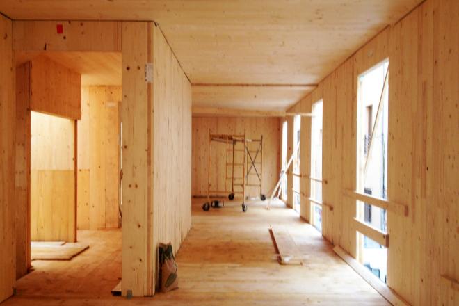 Edificio madera