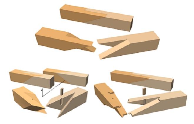 Técnicas japonesas unión madera