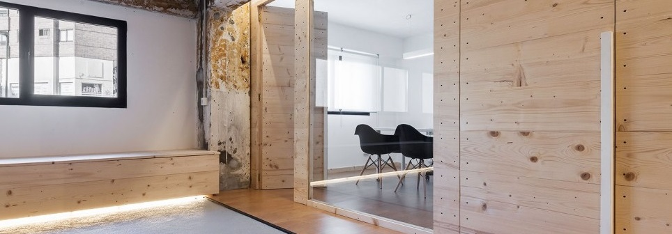 interiorismo madera