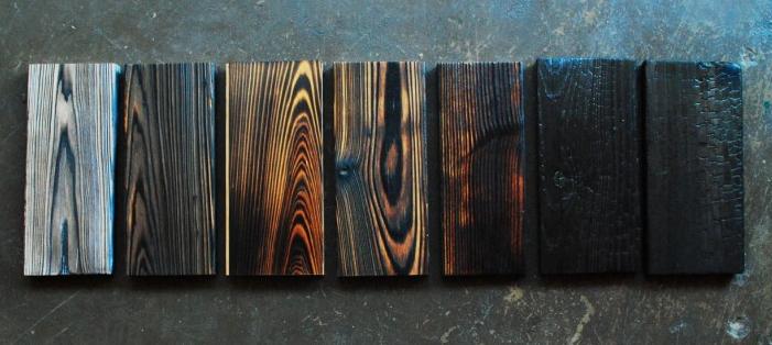 shou sugi ban madera