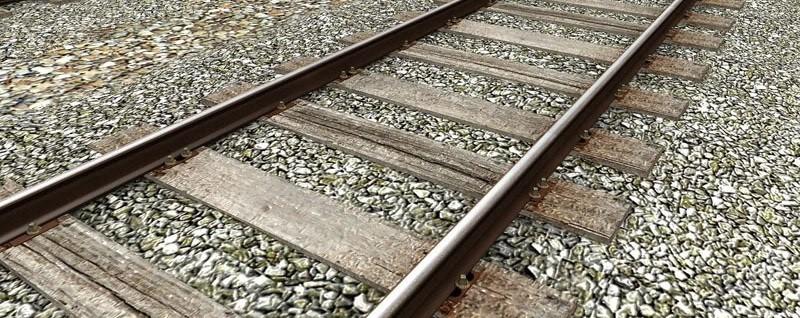 traviesas madera tren