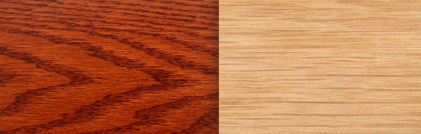 madera roble rojo roble blanco