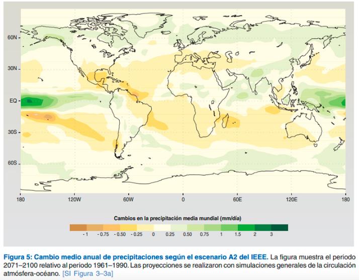 madera cambio climatico