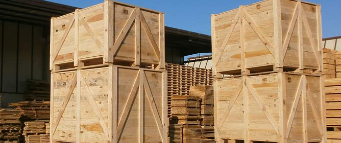 Embalajes palet madera