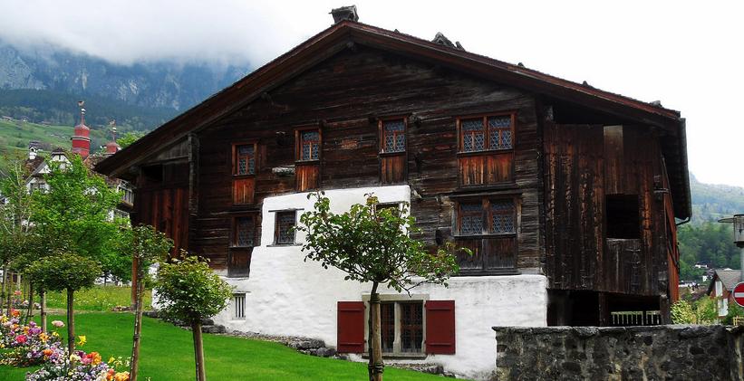 casa más antigua de madera