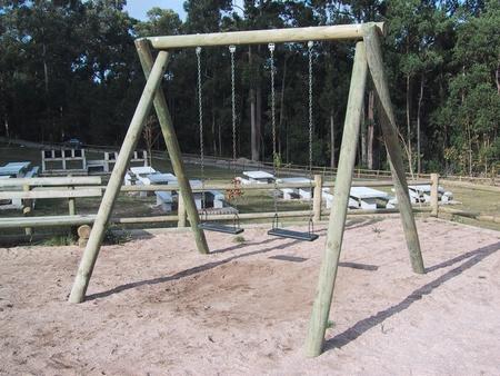 Columpio madera jardin juegos jardn madera primula caballito mecedora columpio doble cm - Columpio madera jardin ...