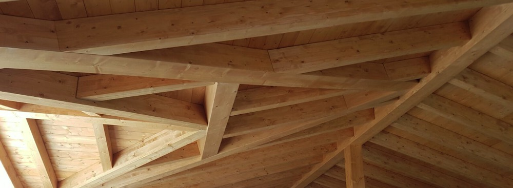 Estructuras de madera fabulous estructuras de madera with - Estructura tejado madera ...