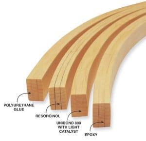 Adhesivos madera laminada
