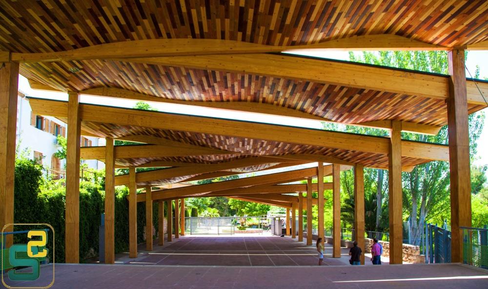 cubierta-de-madera-maciza