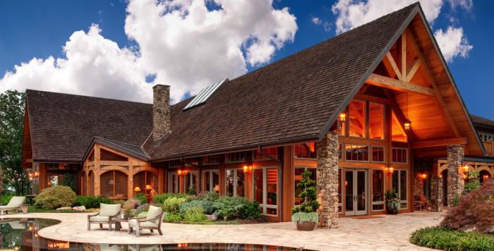 las casas de madera m s all de caba as o casetas maderea