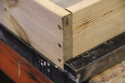 Estructura casa de madera maderea for Estructura casa de madera