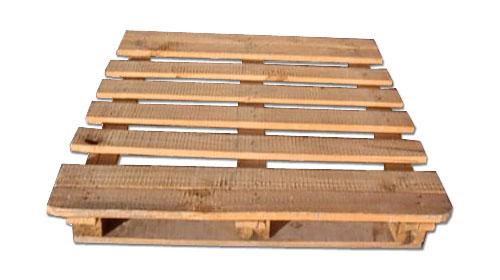 palet de madera de dos entradas - Palet De Madera