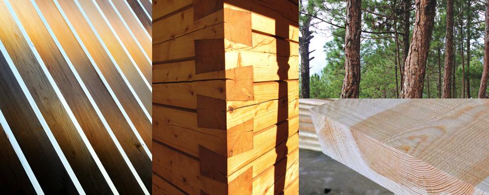 Madera de pino maderea - Casas de madera de pino ...