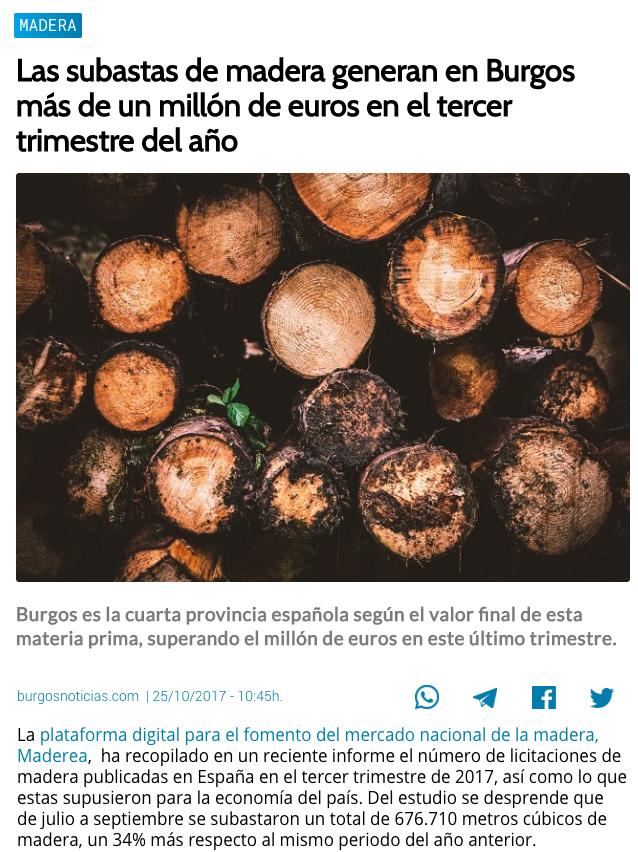 precio subastas madera