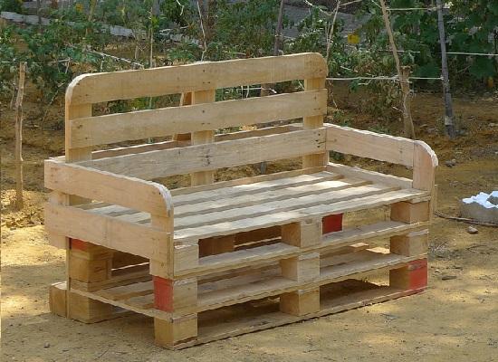 Sillon palets maderea - Hacer sillones con palets ...
