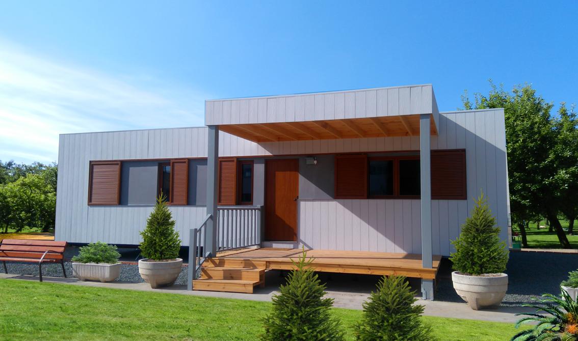 Fabricante de casas pasivas de madera