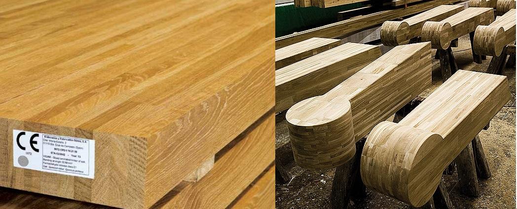 madera laminada encolada