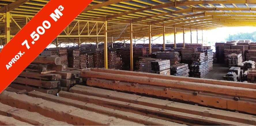 Subasta madera para construcción