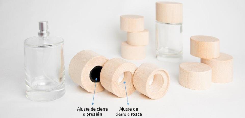 Tapones de madera para frascos