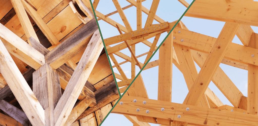 Madera estructural y tipos de uniones
