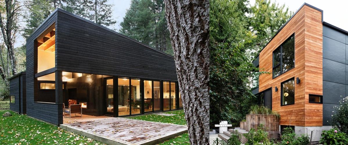revestimiento exterior de madera