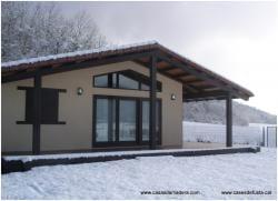 Canadian nordic house catalunya maderea - Casas entramado ligero ...